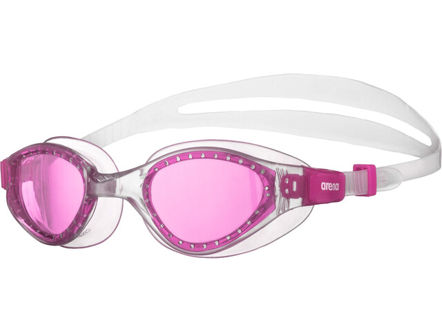 arena Cruiser Evo Lunettes de protection Enfant, fuchsia/clear/clear